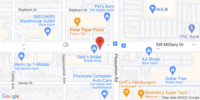 ACE Cash Express San Antonio 828 SW Military Dr 78221 on Map