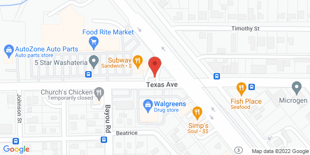 Texas City 5204 Fm 1765, #D 77591 on Map