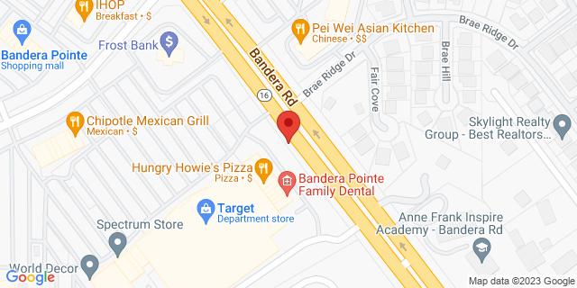 San Antonio 11309 Bandera Rd, #104 78250 on Map