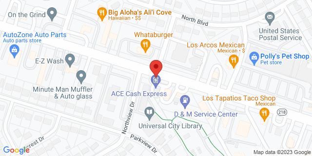 ACE Cash Express Universal City 1105 Pat Booker Rd 78148 on Map