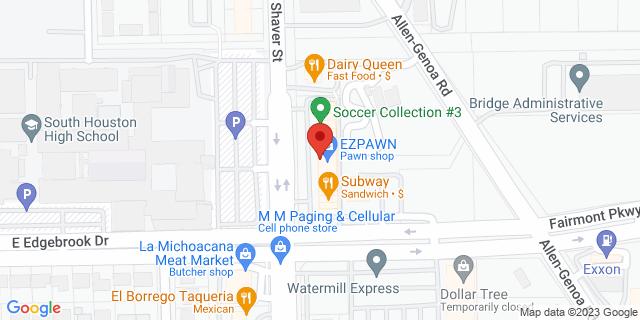 ACE Cash Express Pasadena 3809 Shaver St 77504 on Map