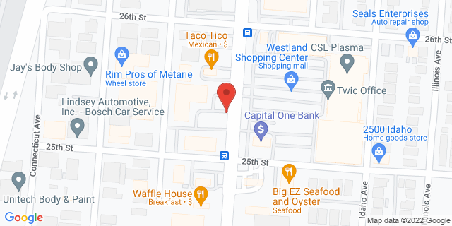 ACE Cash Express Kenner 2545 Williams Blvd 70062 on Map