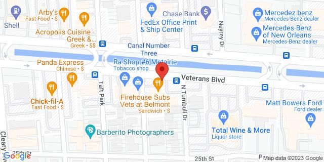 ACE Cash Express Metairie 3816 Veterans Memorial Blvd 70002 on Map