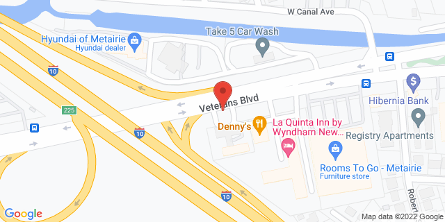 ACE Cash Express Metairie 5920 Veterans Memorial Blvd 70003 on Map