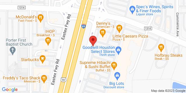 ACE Cash Express Porter 23741 Highway 59 77365 on Map