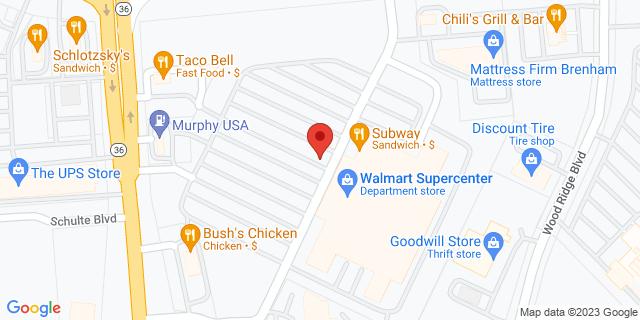 National Bank Brenham 203 Highway 290 W 77833 on Map