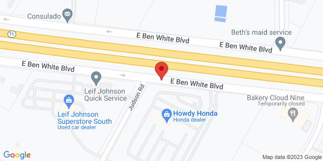 National Bank Austin 74012 E Ben White Blvd 78723 on Map