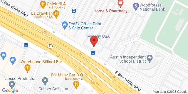 National Bank Austin 710 E Ben White Blvd 78704 on Map
