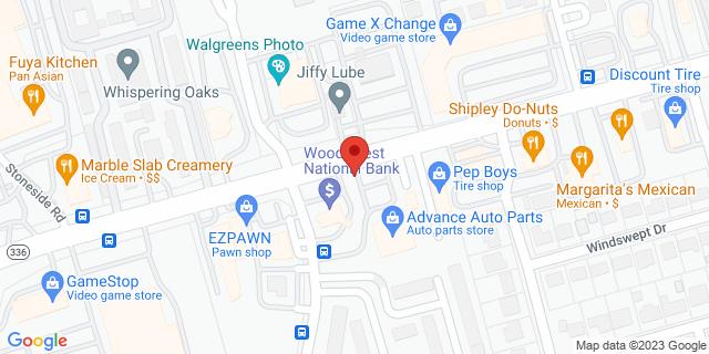 National Bank Conroe 1111 N Loop 336 W 77301 on Map