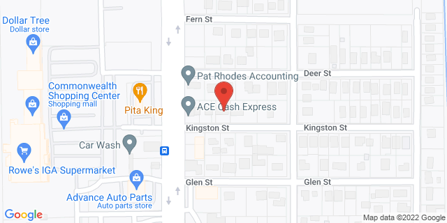ACE Cash Express Jacksonville 3543 Kingston St 32254 on Map