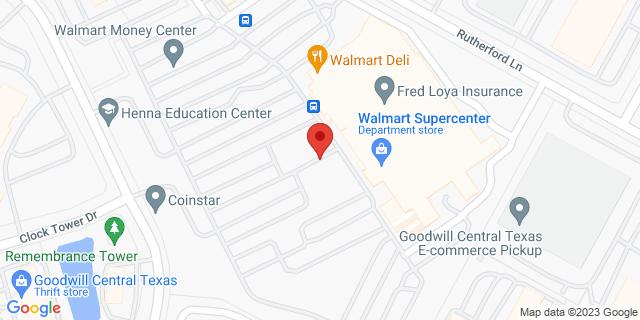 National Bank Austin 1030 Norwood Park Blvd 78753 on Map