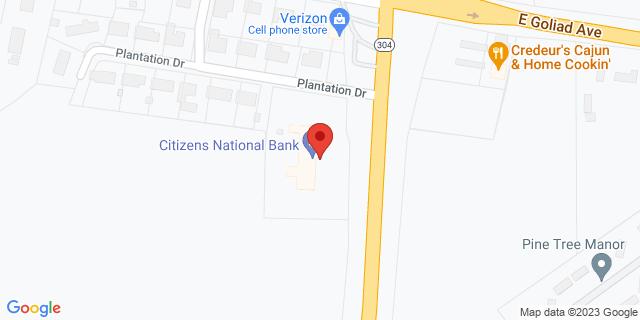 National Bank Crockett 1320 E Loop 304 75835 on Map