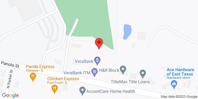 National Bank Carthage 1510 W Panola St 75633 on Map