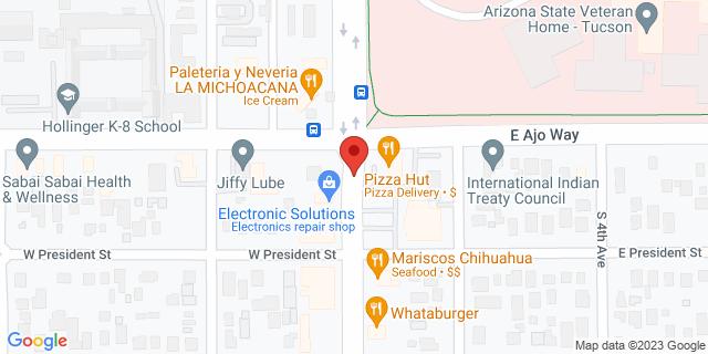 Checksmart Tucson 3802 S. 6th Ave. 85714 on Map