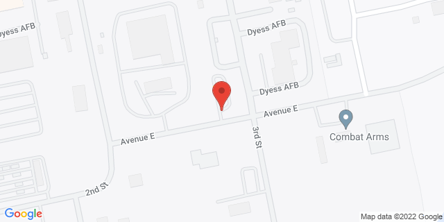 National Bank Dyess air Force Base 650 Avenue E 79607 on Map