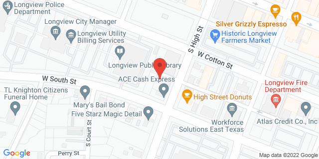 ACE Cash Express Longview 215 S High St 75601 on Map