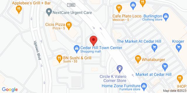 National Bank Cedar Hill 106 W Fm 1382 75104 on Map