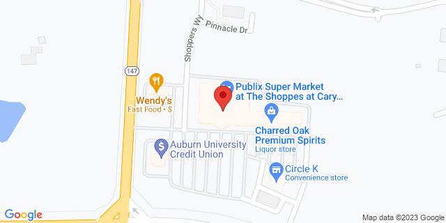 Citibank Auburn 2900 E University Dr 36830 on Map