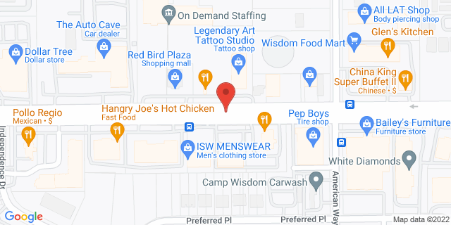 ACE Cash Express Dallas 4003 W Camp Wisdom Rd 75237 on Map