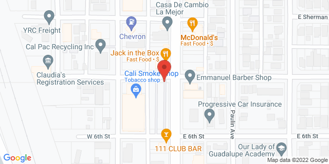 ACE Cash Express Calexico 22 W 7th St 92231 on Map