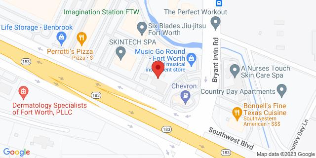 National Bank Benbrook 6002 Southwest Blvd 76109 on Map