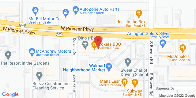 ACE Cash Express Pantego 2602 W Pioneer Pkwy 76013 on Map