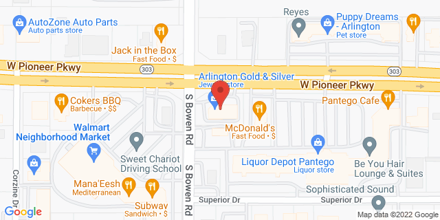 Pantego 2424 W Pioneer Pkwy, #D 76013 on Map