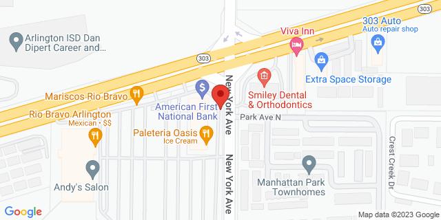 National Bank Arlington 2200 New York Ave 76010 on Map