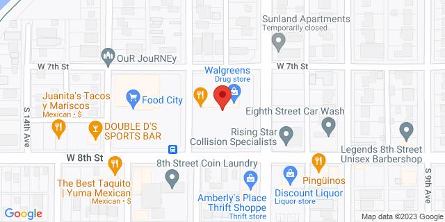 ACE Cash Express Yuma 1150 W 8th St 85364 on Map