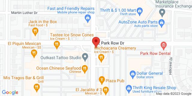 ACE Cash Express Arlington 1509 New York Ave 76010 on Map