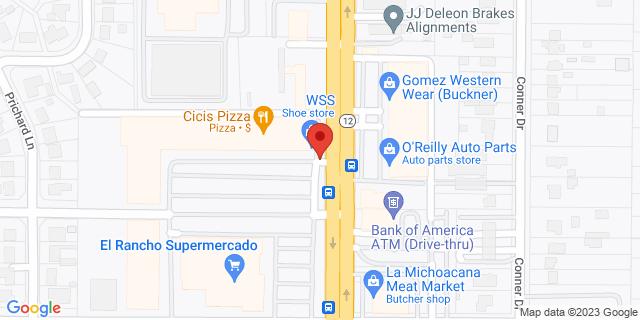 National Bank Dallas 1551 S Buckner Blvd 75217 on Map