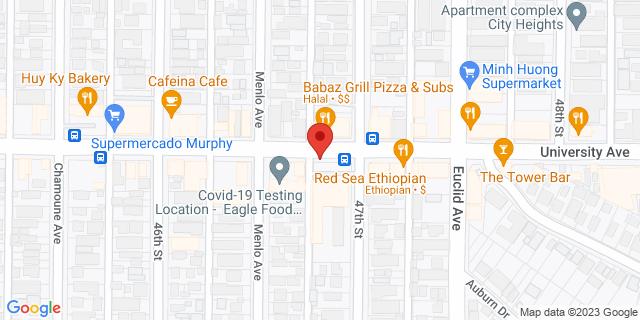 ACE Cash Express San Diego 4679 University Ave 92105 on Map