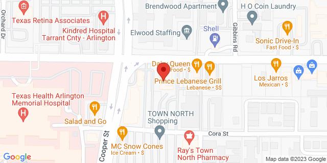 ACE Cash Express Arlington 604 W Randol Mill Rd 76011 on Map