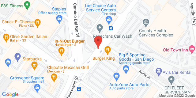 ACE Cash Express San Diego 3740 Rosecrans St 92110 on Map