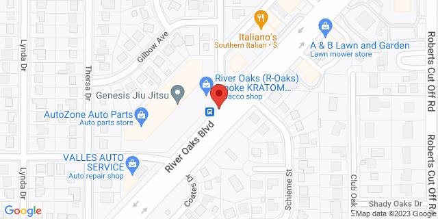 ACE Cash Express River Oaks 5516 River Oaks Blvd 76114 on Map