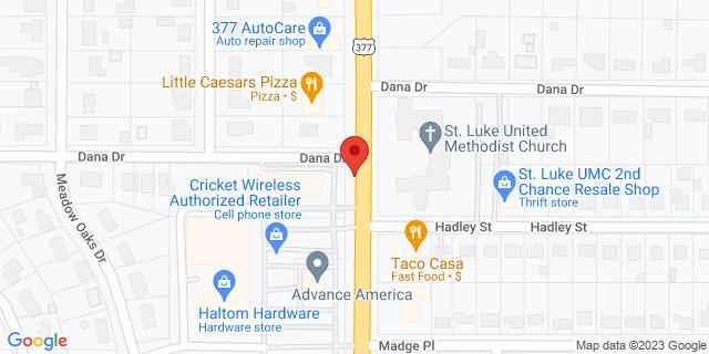 ACE Cash Express Haltom City 3171 Denton Hwy 76117 on Map