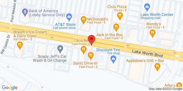 ACE Cash Express Lake Worth 6304 Lake Worth Blvd 76135 on Map