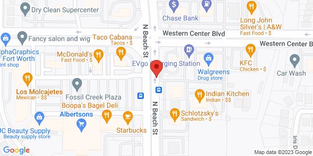 ACE Cash Express Haltom City 6380 N Beach St 76137 on Map