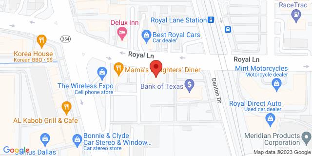 National Bank Dallas 2630 Royal Ln 75229 on Map