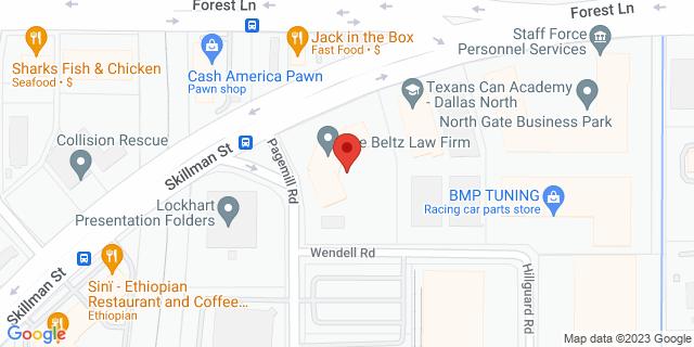 National Bank Dallas 9696 Skillman St, #150 75243 on Map