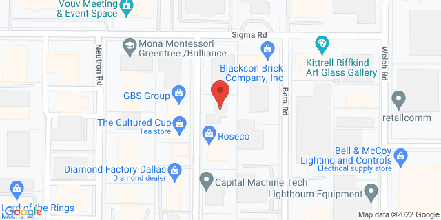 National Bank Dallas 13750 Omega Rd 75244 on Map