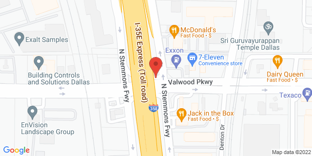 ACE Cash Express Farmers Branch 2351 Valwood Pkwy 75234 on Map