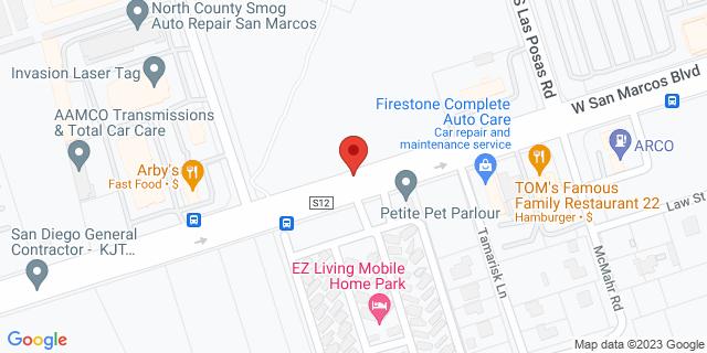 ACE Cash Express San Marcos 500 W San Marcos Blvd 92069 on Map