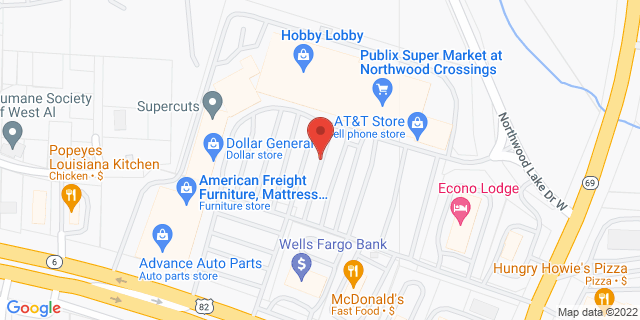 Citibank Northport 2300 McFarland Blvd 35476 on Map