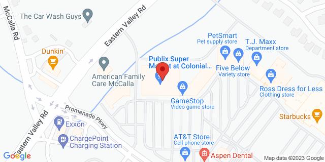 Citibank Bessemer 4965 Promenade Pkwy 35022 on Map