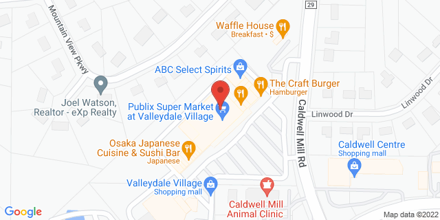 Citibank Birmingham 5188 Caldwell Mill Rd 35244 on Map