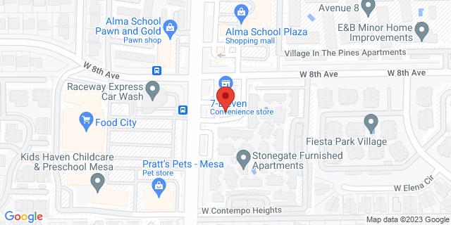 Citibank Mesa 815 S ALMA SCHOOL RD 85210 on Map