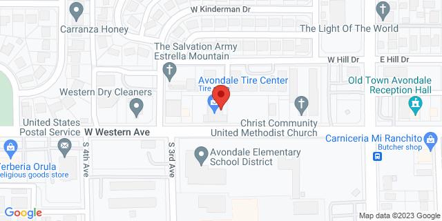 ACE Cash Express Avondale 238 W Western Ave 85323 on Map