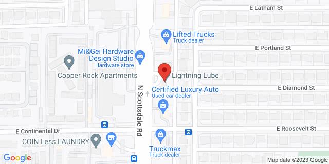 ACE Cash Express Scottsdale 1029 N Scottsdale Rd 85257 on Map