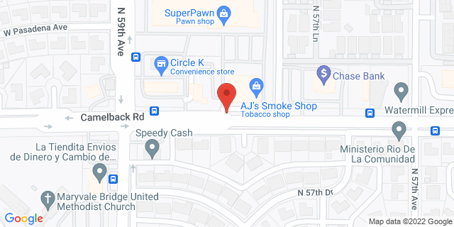 ACE Cash Express Glendale 5804 W Camelback Rd 85301 on Map